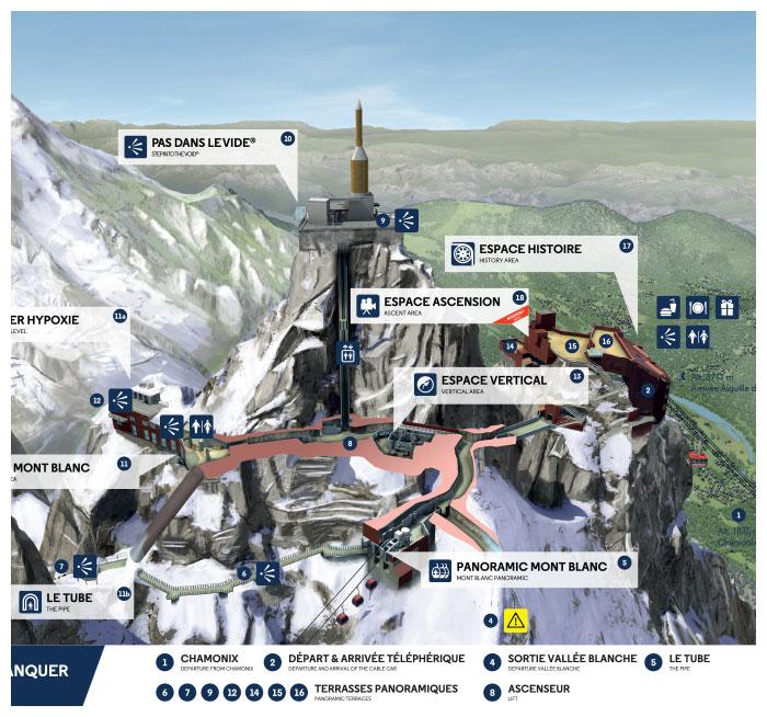 Aiguille Du Midi Le Pas Dans Le Vide forfaits de ski - vente en ligne officielle - achat rechargement