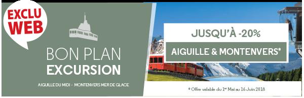 Bons Plans Aiguille du Midi et Montenvers