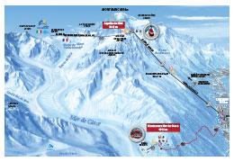 plan Aiguille du Midi Montenvers