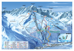 plan Grands Montets