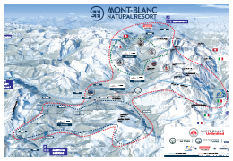 plan MONT BLANC Natural Resort
